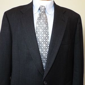 Barrister Wool Suit Coat